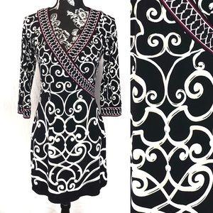 WHBM wrap dress style sz S